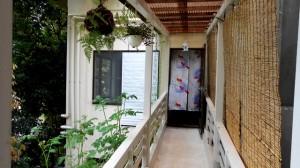 温泉までの渡り廊下2